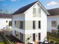 Stadthaus - La Finca - Fertighaus mit kompaktem XXL-Grundriss ...