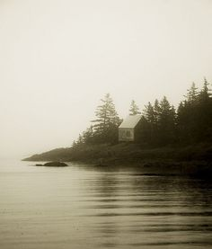 Trevor Richter, Nova Scotia Fishing Cabin.