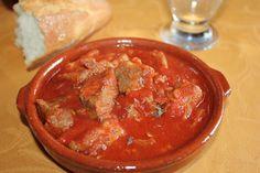 Cocinando con las chachas: Carne con tomate
