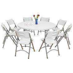 34 best lifetime round tables images round tables round folding rh pinterest com