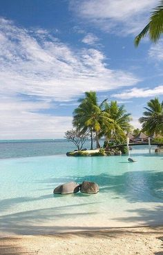 Luxury travel Lily Beach Resort in the Maldives - Luxury travel Infinity Pool in Papeete, Tahiti Island, French Polynesia Places Around The World, Oh The Places You'll Go, Places To Travel, Places To Visit, Around The Worlds, Amazing Places On Earth, Vacation Destinations, Dream Vacations, Vacation Spots