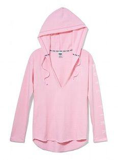 victoria's secret pink hoodies | Victoria's Secret PINK Tunic Hoodie | Love, Love, Love