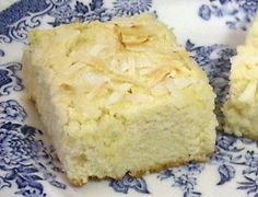 COCONUT CREAM-CHEESE SQUARES - Linda's Low Carb Menus & Recipes (Sub THM approved sweeteners like Truvia for Splenda)