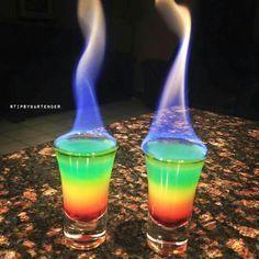 Flaming Rainbows
