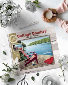 "The Cottage Country 2020 Wall Calendar features artwork by David Ward of lakeside cottages and tranquil woodlands every month. LANG Wall Calendars feature monthly full color images on elegant linen embossed paper stock, with a brass grommet for hanging.  This special edition includes a 9"" x 12"" print that can be framed! Wall Calendars, Lakeside Cottage, Embossed Paper, Colour Images, Cottages, David, Brass, Elegant, Country"