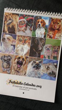 Pastelesta Calendar 2015 - www.pastelesta.co.uk