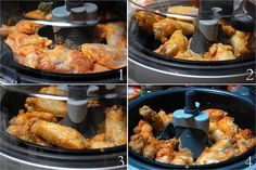 Chicken Wings Cooked with Actifry Actifry Chicken Wings, Asian Chicken Wings, Keto Chicken Wings, Frozen Chicken Wings, Chicken Wing Sauces, Chicken Recipes, Sweet And Spicy Sauce, Cooking Recipes, Healthy Recipes