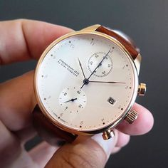 New Chronograph 1815 Rose Gold by @aboutvintageofficial