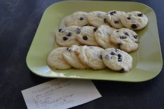 Nifty Thrifty & Thriving: Cake Mix Chocolate Chip Cookies