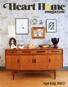 Heart Home magazine spring/2012 #decor #design #home #interior #quarterly #free