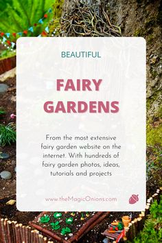 This is a gorgeous fairy garden… so magical! See the little fairy vegetable garden, the stick door, the fairy hammock, the fairy arbor and fairy-sized flags. Click through to see lots of beautiful and close up photos for your fairy garden inspiration. #FairyGarden #DIYFairyGarden Hobbies To Try, New Hobbies, Natural Homes, Cute Fairy, Beautiful Fairies, Garden Features, Garden Photos, Miniature Fairy Gardens, Close Up Photos