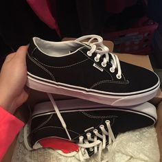 Nwt Black Vans These are brand new, never worn size 8 black vans. I'm looking to buy new ones instead of these Vans Shoes Sneakers