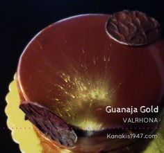 Guanaja Gold by VALRHONA In the small island of the Atlantic, Guanagia, is cultivated one of the richest in cocoa plantation taste of Latin America. The climate of Ecuador and the specificities of soil created a small miracle that melts in the mouth and leaves the top chocolate aftertaste ever tasted! Find exclusively by VALRHONA in our stores!  http://www.kanakis1947.com/#!pastryshops/c249r