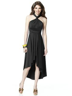 TWIST Convertible Dress with Wrap Skirt  http://www.dessy.com/dresses/twist-faux-wrap-detail-skirt/#.UlFsUDDD8a8