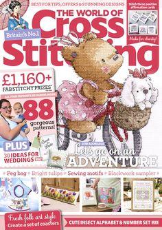 The World of Cross Stitching Issue 280 Cross Stitch Designs, Cross Stitch Patterns, Motifs Blackwork, Peg Bag, Cross Stitch Magazines, Cross Stitch Collection, Angel Art, Stitch Kit, Cross Stitching