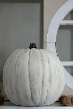 How to make a fake plastic pumpkin look realistic eclecticallyvinta. Fake Pumpkins, Dollar Tree Pumpkins, Artificial Pumpkins, Plastic Pumpkins, White Pumpkins, Painted Pumpkins, Halloween Pumpkins, White Pumpkin Decor, Diy Pumpkin