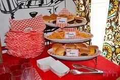 hamburger party (LOVE!)