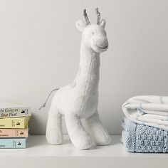 George Giraffe Chime Toy | The White Company