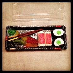 Snoep sushi traktatie  #hapjesuitdenhaag