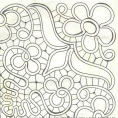 RPL pattern. This is one corner. Make 4 copies to make a whole square