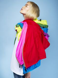 KWAY Jackets! Wear them all year round! http://thehoodieshop.com/search?q=kway