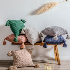 Medina Zigzag Pillows 2 | Moroccan Design Knitted Cushion Covers, Knitted Cushions, Throw Cushions, Pillow Covers, Sofa Throw, Decorative Pillow Cases, Decorative Cushions, Vintage Pillows, Pillows