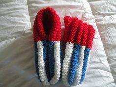 Knitted Phentex slippers for men