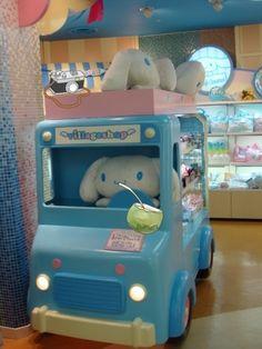 Cinnamoroll shop at Sanrio Puroland.