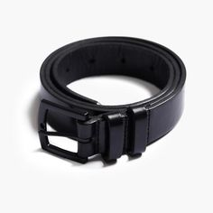 Italian leather belt by MARMIER Made from sturdy Italian leather, this Premium Quality belt will last for as long as you need it. Also available in brown Made in Canada Metal Buckles, Black Belt, Italian Leather, Canada, Accessories, Boutique, Men, Products, Guys