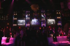Giving Kohl's even more visibility, Kingdom Entertainment Group placed enlarged versions of the ads inside Mansion for the pre-party.