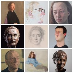 The Art of the Portrait Paintings, drawings and sculpture by Antony Williams, David Williams-Ellis, Robbie Wraith and Wilfrid Wood.