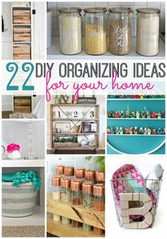 What is it about a new year that always has me excited to tackle organization projects? I'm always looking for new DIY organizing projects. It just feels good to start a new year with a clean, fresh l