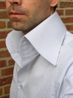 J & B 4 button high collar