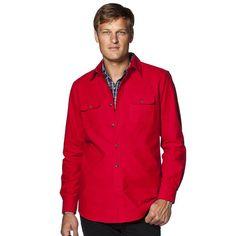 Men's Chaps Classic-Fit Button-Down Work Shirt, Size: