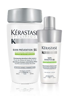 Kerastase has just launched the specifiue line! It is developed to help thicken your hair without weighing it down. We carry the lshampoo, conditioner and at home treatments!
