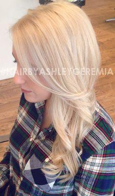 blonde hair, platinum blonde hair #hairbyashleygeremia