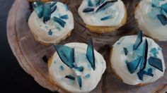 Celebrate the new season of Game of Thrones with winter-inspired cupcakes