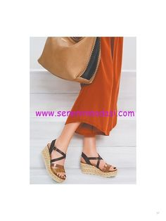 Derimod hasır dolgu topuklu sandalet