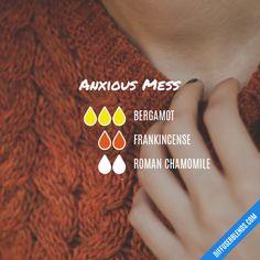 Anxious Mess - Essential Oil Diffuser Blend