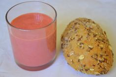 Smoothie de Manga e Framboesa com Kefir (Mango and Raspberry Kefir Smoothie)