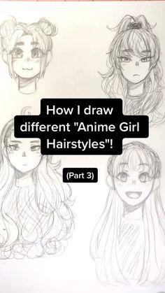 Art Drawings Sketches Simple, Doodle Drawings, Easy Drawings, Pencil Art Drawings, Cute Art Styles, Cartoon Art Styles, Drawing Lessons, Drawing Techniques, Art Tutorials