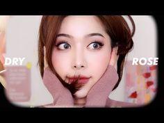 YouTube Korea Makeup, Asian Eye Makeup, Asian Eyes, Make Up, Rose, Youtube, Pink, Makeup, Beauty Makeup
