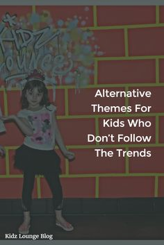 So, how do you pick a party theme when they're not up to date on pop culture? Here are a few ideas! http://blog.kidz-lounge.com/party-ideas/alternative-themes-for-kids-who-dont-follow-the-trends/