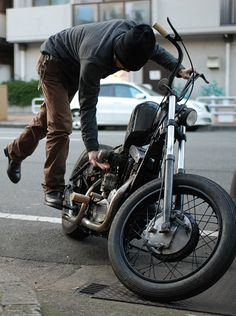 They don't even have motorcycles and this reminds me of him. Hmmm...