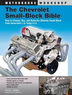 Chevrolet Small-Block Bible - How Build 265 283 302 307 327 350 400 Chevy Engine Chevy 350 Engine, Ls Engine, Truck Engine, 1985 Chevy Truck, Chevy Trucks, 1968 Camaro, Yamaha V Star, Crate Engines, Performance Engines