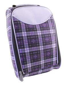 Slam Glam - Hunter Nu-Sport Purple Plaid Golf Shoe Bag, $39.99 (http://www.slamglam.com/hunter-nu-sport-purple-plaid-golf-shoe-bag/) Now available--Eclipse Golf Bag Accessories.  Coordinating ladies golf headcovers and shoe bags for all Hunter Nu-Sport Ladies Golf Bags.