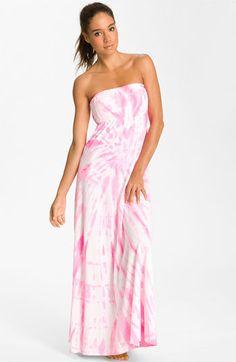 Hard Tail Long Strapless Dress   Nordstrom