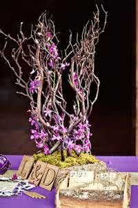 ... orchids and moss with driftwood. | Fern + moss floral design