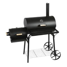 http://ift.tt/1InAcrh Barbecue-Smoker Grill Standgrill Räucherofen schwarz  groß !lonmawe$