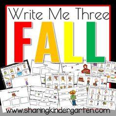 Write me three FALL